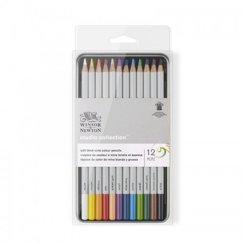 Lápices W&N Studio Soft 12