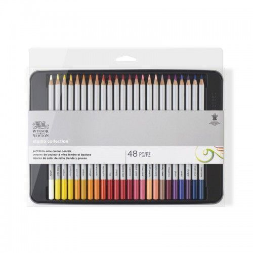Lápices W&N Studio Soft 48