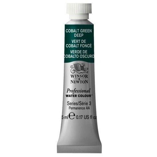 Acuarela Profesional W&N Verde Cobalto oscuro