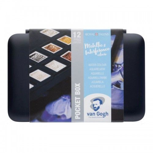 Set acuarelas Van Gogh 12 colores especiales