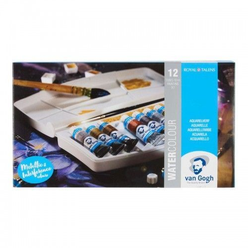 Set acuarelas pomos Van Gogh 12 colores especiales