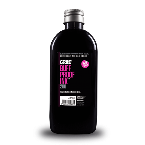 Tinta Grog Buff Proff Death Black