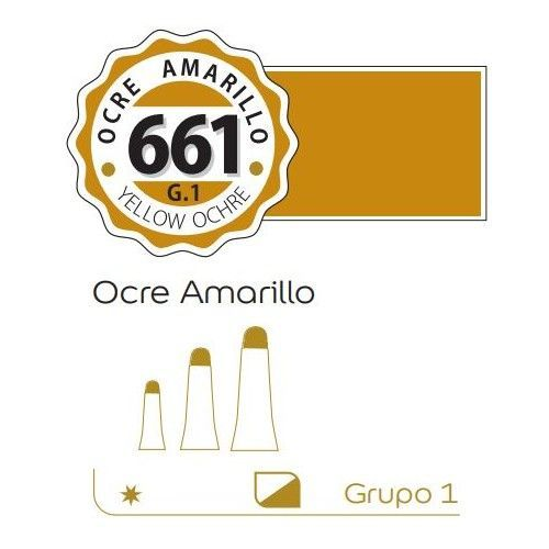 Oleo Alba 125ml Ocre amarillo