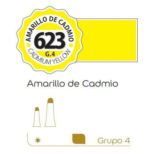Oleo Alba 60ml Amarillo de cadmio