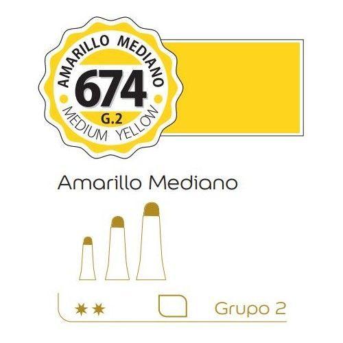 Oleo Alba 60ml Amarillo mediano G2