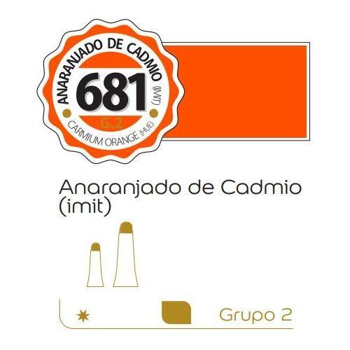Oleo Alba 60ml Anaranjado de cadmio (imit)