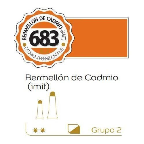 Oleo Alba 60ml Bermellon de cadmio (imit)