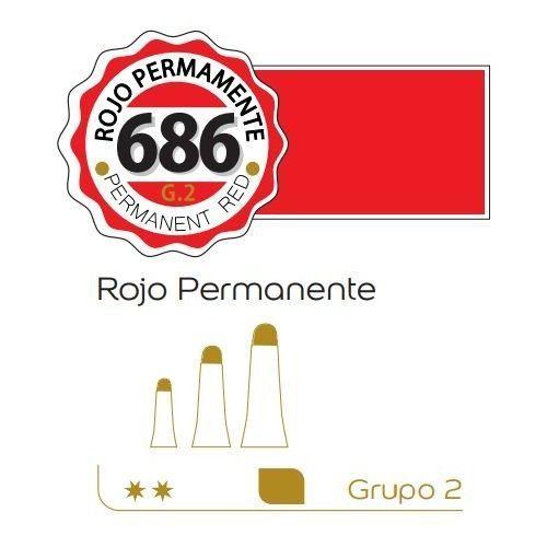 Oleo Alba 60ml rojo permanente