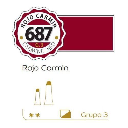 oleo Alba 60ml Rojo carmin