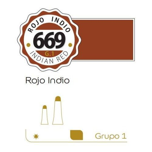 Oleo Alba 60ml Rojo indio