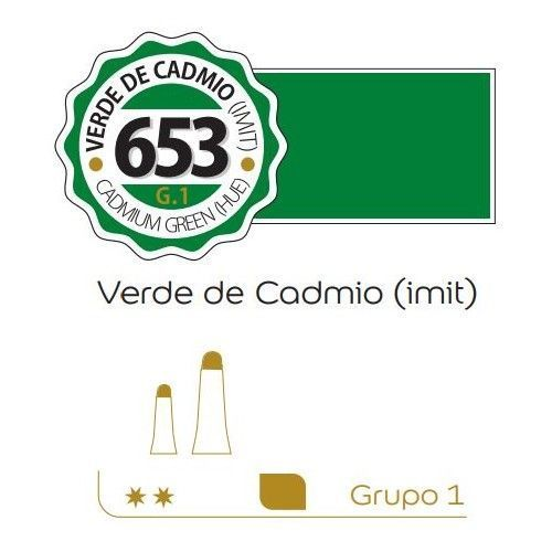Oleo Alba 60ml Verde cadmio (imit)
