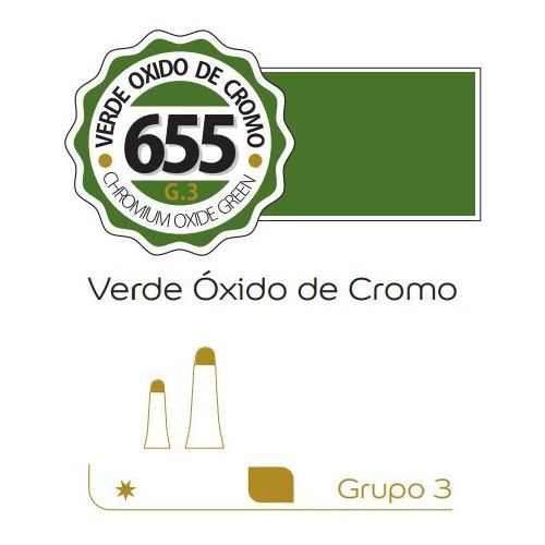 Oleo Alba 60ml Verde oxido de cromo