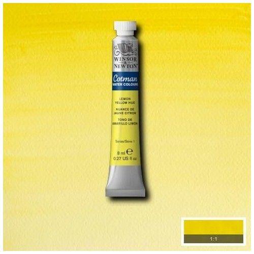 Acuarela Cotman amarillo limón