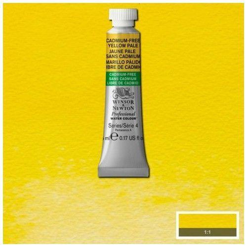 Acuarela Profesional W&N amarillo palido libre de cadmio