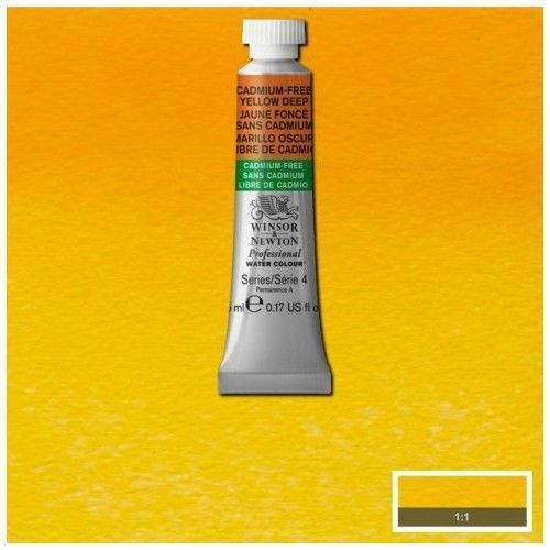Acuarela Profesional W&N amarillo oscuro libre de cadmio