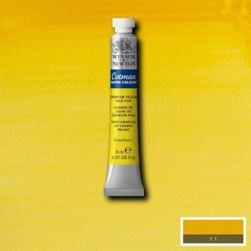 Acuarela Cotman amarillo cadmio pálido