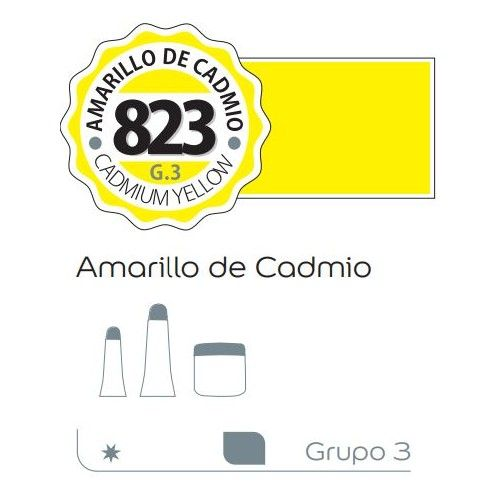 Acrilico Alba 60ml Amarillo de cadmio