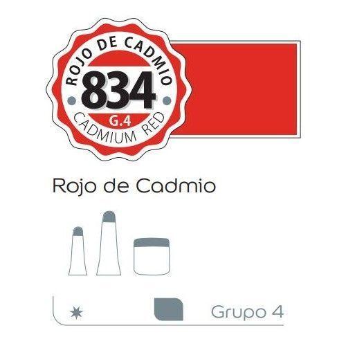 Acrilico Alba 60ml Rojo de cadmio