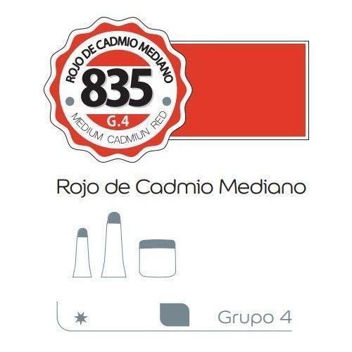 Acrilico Alba 60ml Rojo de cadmio mediano