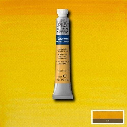 Acuarela Cotman amarillo de cadmio