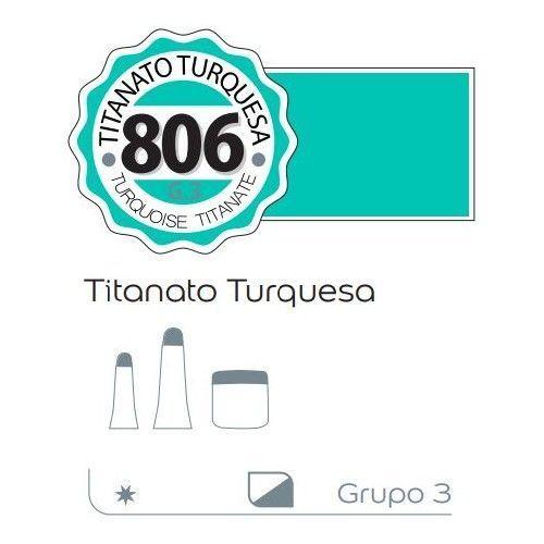Acrilico Alba 60ml Titanato turquesa