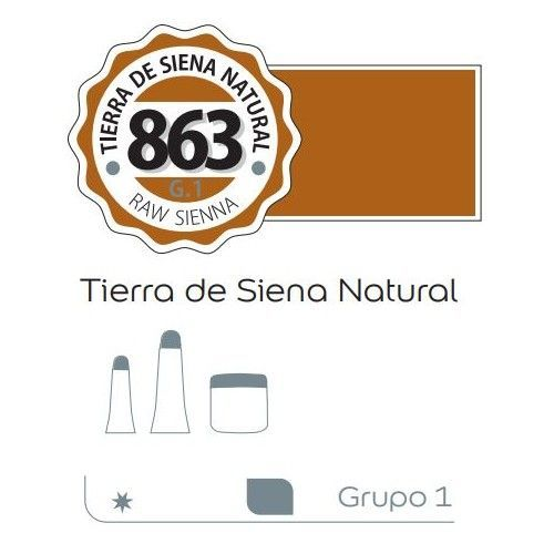 Acrilico Alba 60ml Tierra siena natural