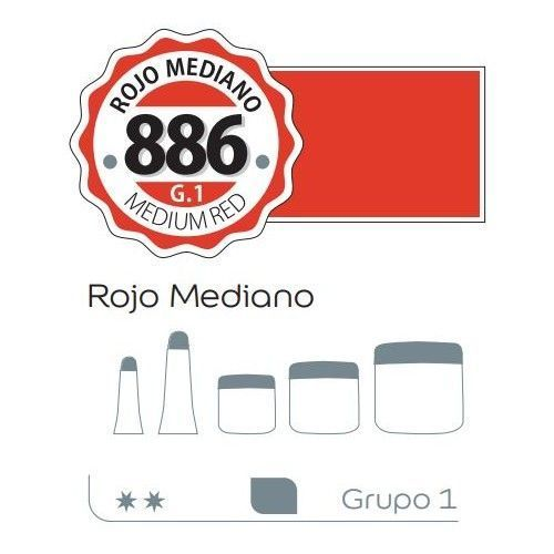 Acrilico Alba 200ml Rojo mediano