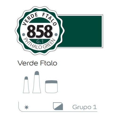 Acrilico Alba 200ml Verde ftalo