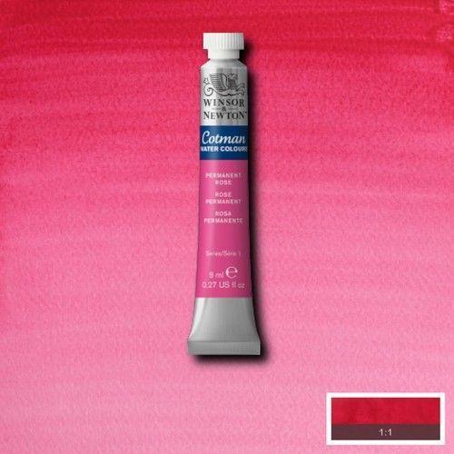 Acuarela Cotman rosa permanente (magenta) S1