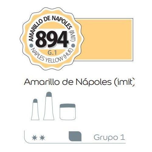 Acrilico Alba 200ml Amarillo de Napoles (imit)