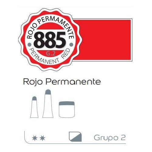 Acrilico Alba 200ml Rojo permanente