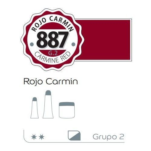 Acrilico Alba 200ml Rojo carmin