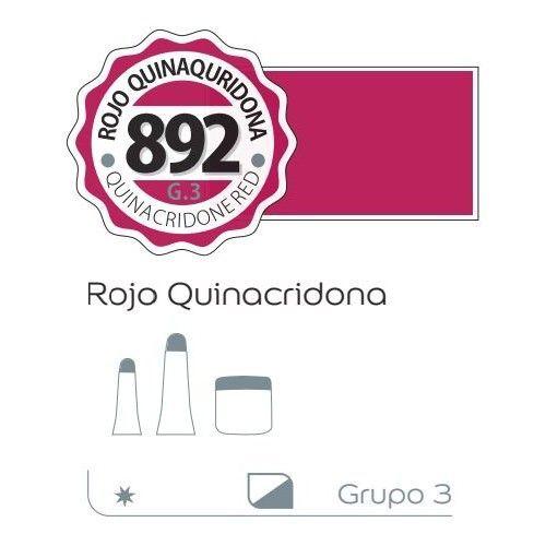 Acrilico Alba 200ml Rojo quinacridona