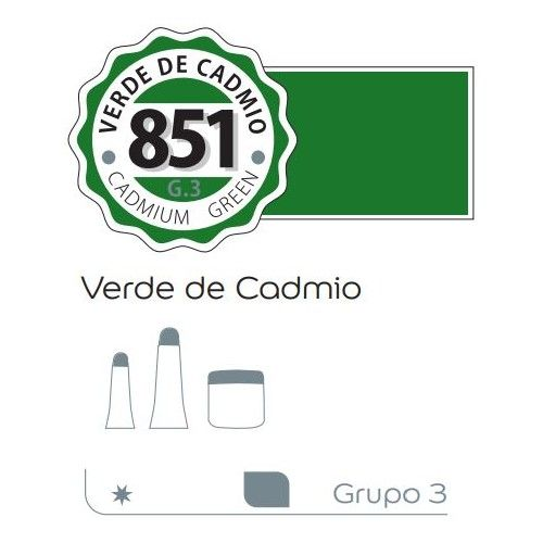Acrilico Alba 200ml Verde de cadmio