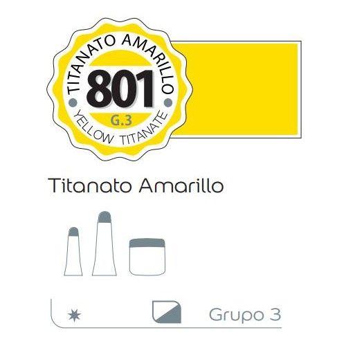 Acrilico Alba 200ml Titanato amarillo