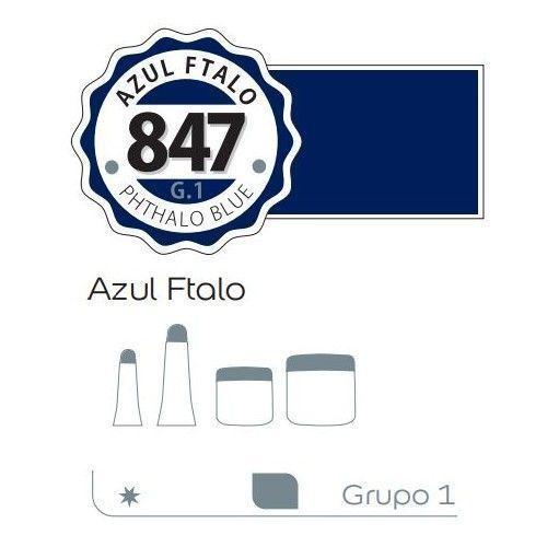 Acrilico Alba 500ml Azul ftalo