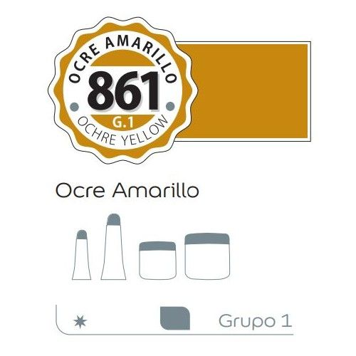 Acrilico Alba 500ml Ocre amarillo