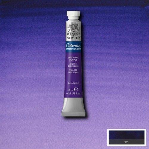 Acuarela Cotman violeta dioxacina