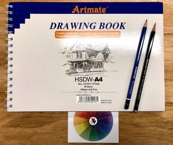 Block Artmate boceto A4 100grs espiral