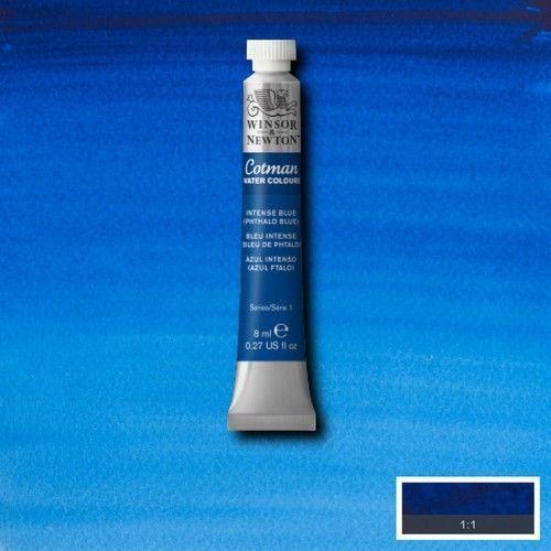 Acuarela Cotman azul cobalto
