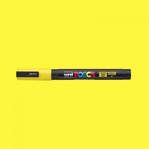 Marcador Posca 3M amarillo