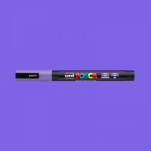 Marcador Posca 3M lila