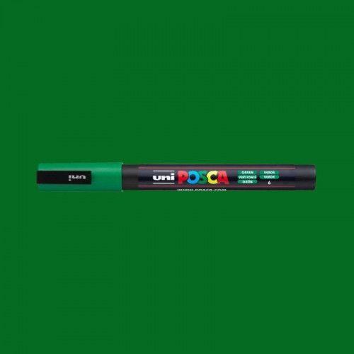 Marcador Posca 3M verde
