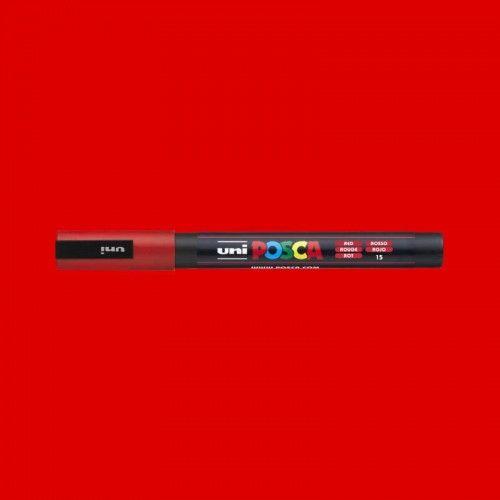 Marcador Posca 3M rojo