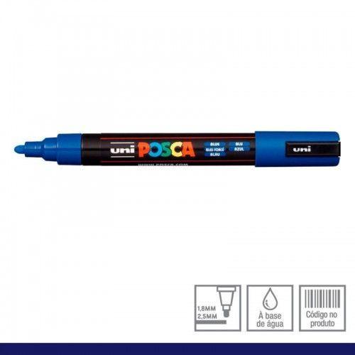 Marcador Posca 5M azul