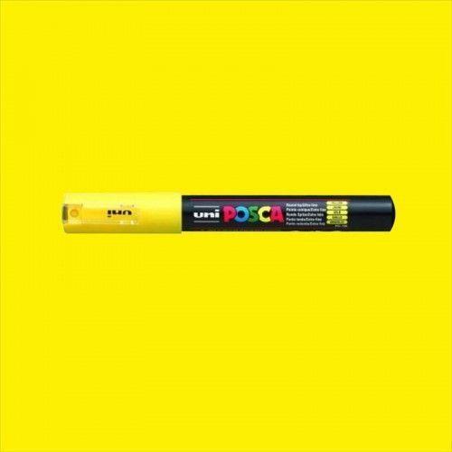 Marcador Posca 1M amarillo