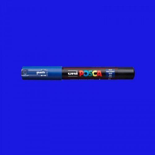 Marcador Posca 1M azul
