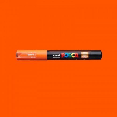 Marcador Posca 1M naranja
