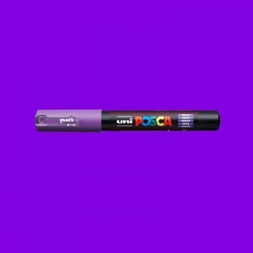 Marcador Posca 1M violeta