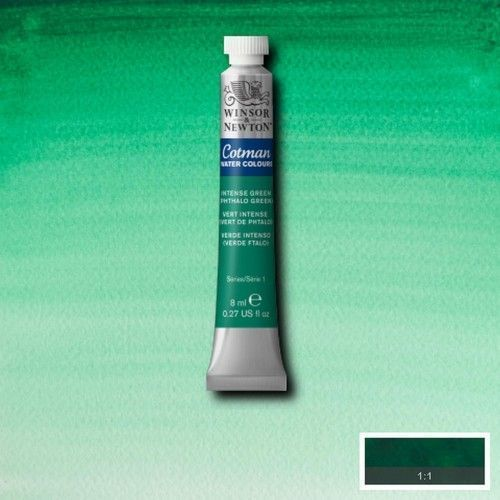 Acuarela Cotman verde intenso (ftalo)